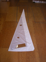 Furling Jib Sail to fit Hobie® 16 - White Dacron