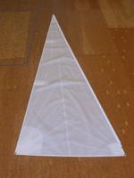 Nacra 5.0 Jib Sail Radial White Dacron