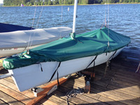 RS Vision Sailboat Mast Up Flat Cover - Boat Mooring Cover