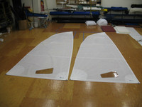 Mainsail to fit Hobie® Wave - White Dacron