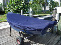 Bauer 10 Sailboat Top Cover - Boat Deck Cover
