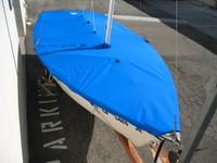 Blue Jay Sailboat Mooring Cover - Mast Up Flat Cover