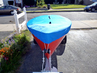 Kite Sailboat Top Cover - Boat Deck Cover