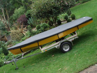 Impulse Dinghy (4m) Sailboat Top Cover - Boat Deck Cover
