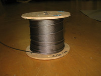 """5/32"""" 7x19 Stainless Steel Wire Rope"""