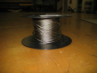 """1/8"""" 7x19 Stainless Steel Wire Rope"""