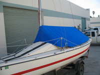 Holder 20 Sailboat - Boom Tent Boat Cover