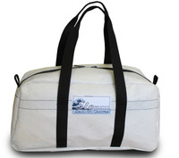Sailcloth White Duffel Bag Carry-on Size/Small