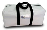 Sailcloth White Duffel Bag Medium