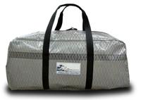 Sailcloth Duffel Bag Gun Metal Gray LARGE