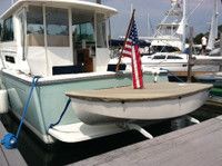 """Dyer Dhow 7' 11"""" Sailboat Top Cover - Boat Deck Cover"""