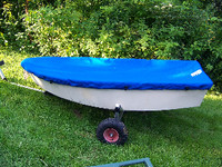 Dyer Midget Sailboat Top Cover - Boat Deck Cover