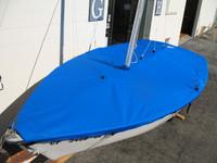 Rascal Sailboat Mooring Cover - Mast Up Flat Cover