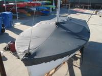 O'Day DaySailer Sailboat Mooring Cover - Mast Up Flat Cover