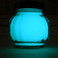 Glow In The Dark Acrylic Indoor Outdoor Paint Aqua Glow