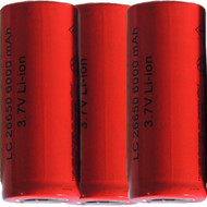 26650-3.7-volt-li-ion-rechargeable battery 6,000mAh