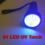 51 LED UV BlackLight Torch