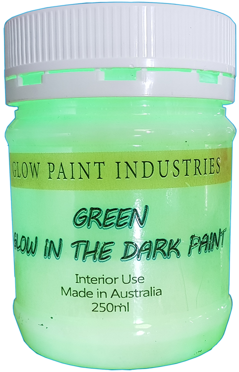Glow In The Dark Paint For Interior use only.