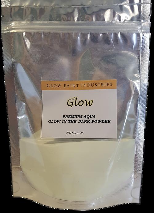 Premium Aqua Glow in the Dark pigment Powder