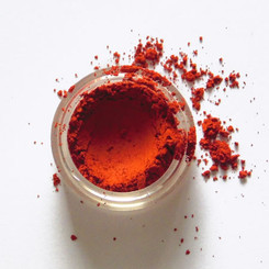 Clay Mineral Eye Shadow- FIRE RED