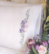 Dimensions - Pansy Trio Pillowcases (2)