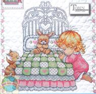 Design Works - Bedtime Prayer Girl Quilt