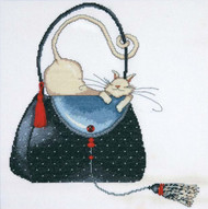Design Works - Polka Dot Purse