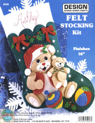 Design Works - Playful Bears Stocking
