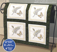 Janlynn - Fern and Butterfly Quilt Blocks