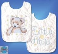 Design Works - Angel with Bear Bibs (2)