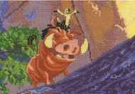 Kinkade / Disney Dreams - Pumbaa & Timon