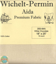 Wichelt - 16 Ct White Chocolate Aida 18 x 25 in