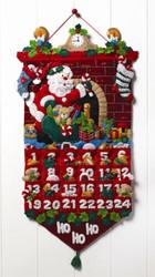 Plaid / Bucilla - Must Be Santa Advent Calendar