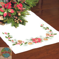 Dimensions - Christmas Greens Table Runner