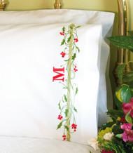 Dimensions - Holly Border Pillowcases