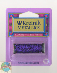 Kreinik Metallics Very Fine #4 Punchy Purple 026L