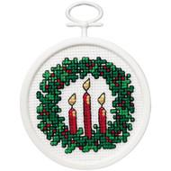 Janlynn Mini - Holiday Wreath
