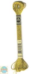 DMC Light Effects Floss - Dark Gold #E3852