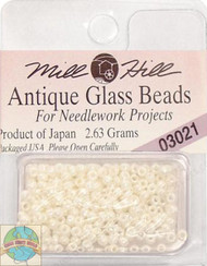 Mill Hill Antique Glass Beads 2.63g Royal Pearl