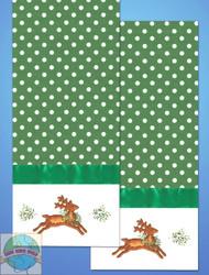 Design Works - Reindeer Towels (2) w/Floss