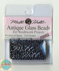 Mill Hill Antique Glass Beads 2.63g Midnight