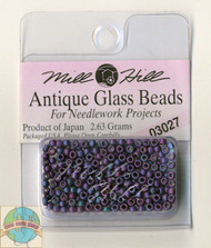 Mill Hill Antique Glass Beads 2.63g Caspian Blue