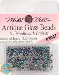 Mill Hill Antique Glass Beads 2.63g Blue Iris