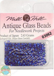 Mill Hill Antique Glass Beads 2.63g Blue Velvet