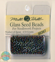 Mill Hill Glass Seed Beads 4.54g Garnet