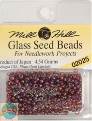 Mill Hill Glass Seed Beads 4.54g Heather