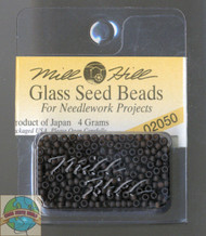 Mill Hill Glass Seed Beads 4g Matte Chocolate
