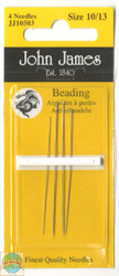 John James - Size 10/13 Beading Needles (4)