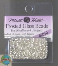 Mill Hill Frosted Glass Seed Beads 4.25g Ice