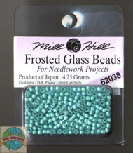 Mill Hill Frosted Glass Seed Bead 4.25g Aquamarine
